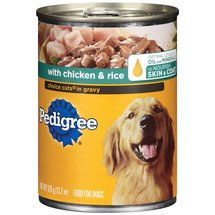 Pedigree W/ Chicken & Rice Choice Cuts In Gravy