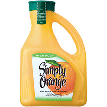 Simply Orange High Pulp Orange Juice
