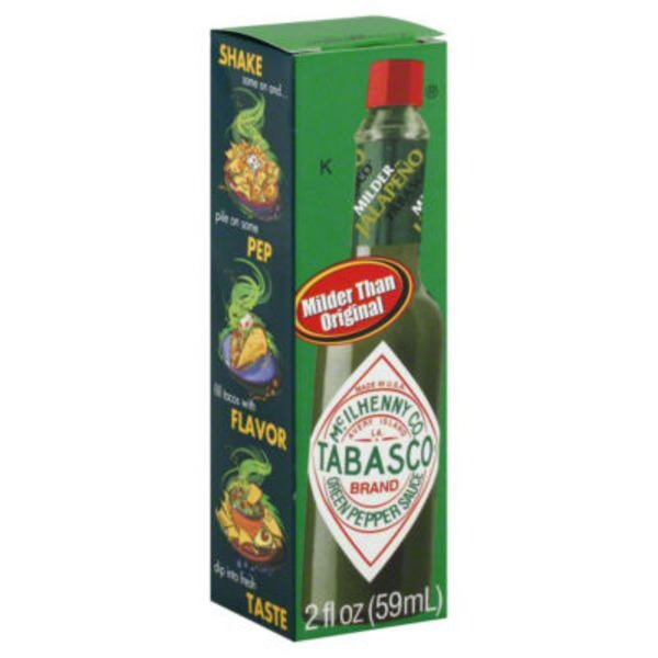 Tabasco ® Brand Green Jalapeno Pepper Sauce