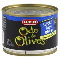 H-E-B Ode To Olives Sliced Black Olives