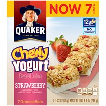 Quaker Chewy Yogurt Strawberry Granola Bars