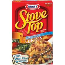 Kraft Stove Top Stuffing Mix Chicken Lower Sodium