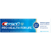 Crest Pro-Health For Life Smooth Mint Flavor Toothpaste