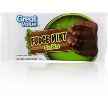 Great Value Fudge Mint Cookies
