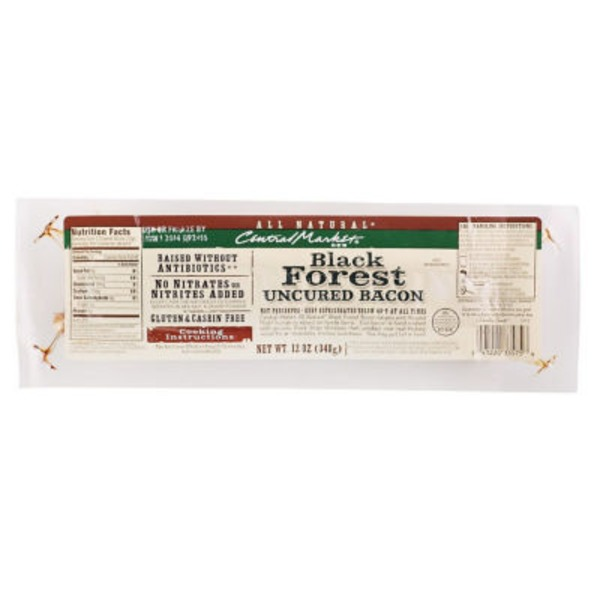 Central Market Black Forest Uncured Bacon