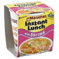 Maruchan Instant Lunch With Shrimp Ramen Noodle Soup