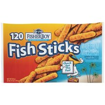 Fisher Boy 128 Ct Fish Sticks