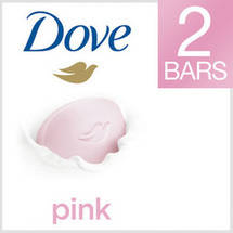 Dove Pink-Rosa 1/4 Moisturizing Lotion Beauty Bar