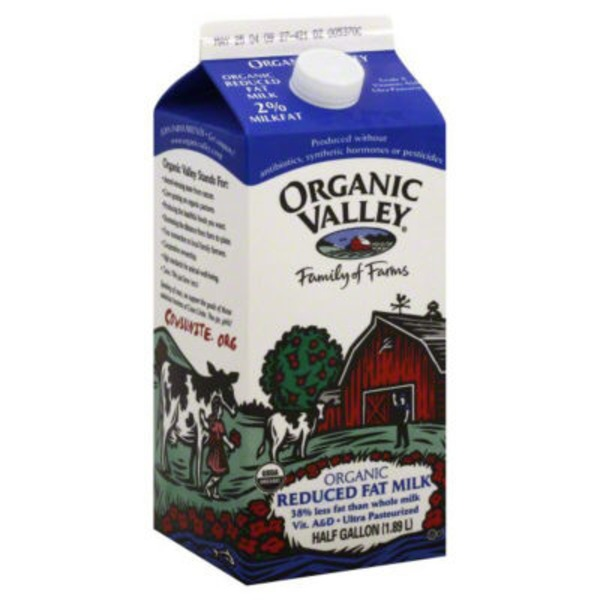 Organic Valley 2% Reduced Fat Milk
