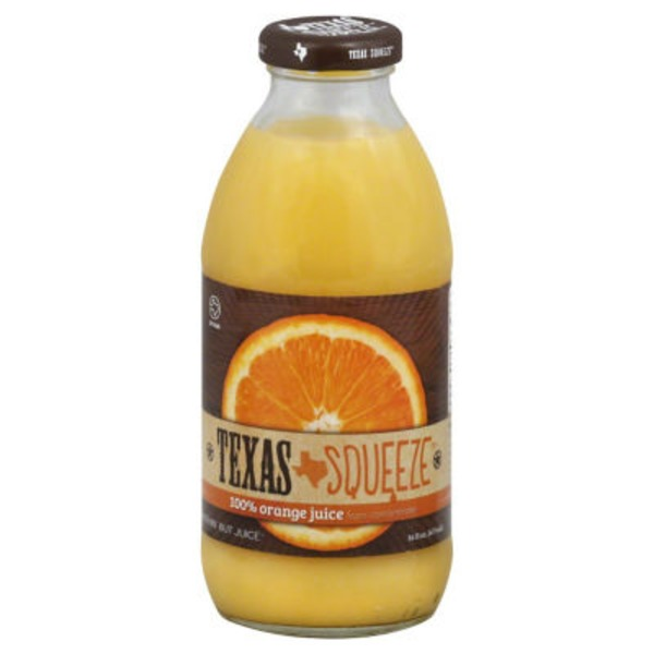 Texas Squeeze 100% Juice, Orange