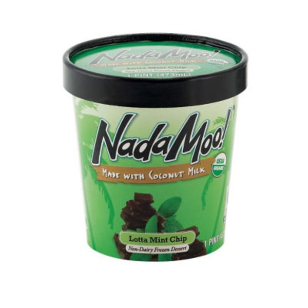 Nada Moo! Lotta Mint Chocolate Chip Frozen Coconut Dessert