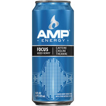AMP Energy Focus Mixed Berry Energy Drink