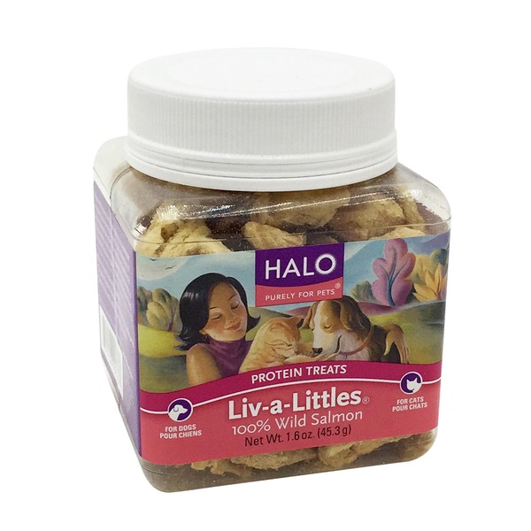 Halo Liv A Littles Wild Salmon Treats
