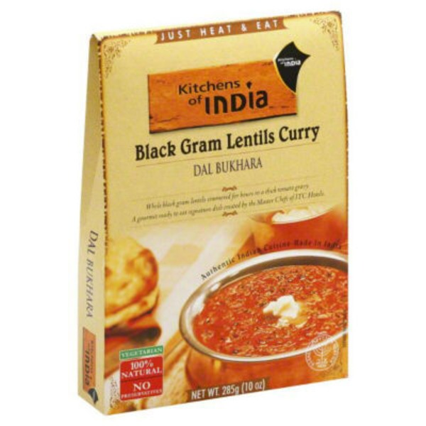 Kitchens of India Black Gram Lentils Curry