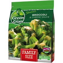 Green Giant Vegetable Broccoli & Three Cheese Sauce Family Size