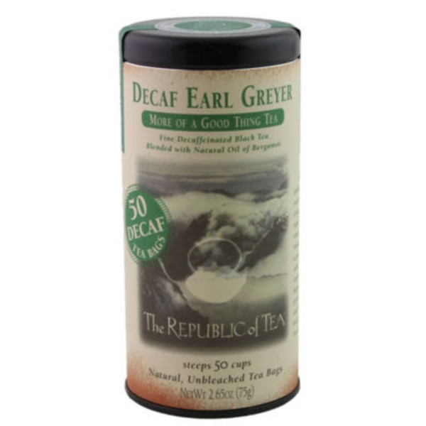 The Republic of Tea Decaf Earl Greyer