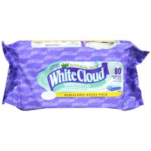 White Cloud Cotton Premoistened Cloths