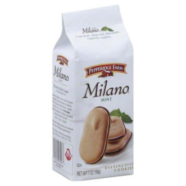 Pepperidge Farm Cookies Milano Mint Chocolate Cookies