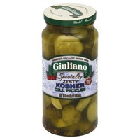 San Giualiano Specialty Zesty Kosher Dill Pickles