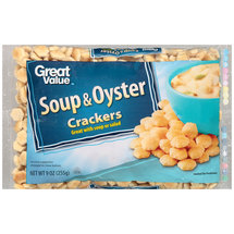 Great Value Soup & Oyster Crackers