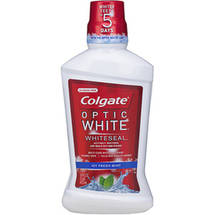 Colgate Optic White Refreshing Mint Mouthwash