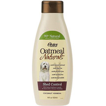 Oster Oatmeal Naturals Shed Control Dog Shampoo