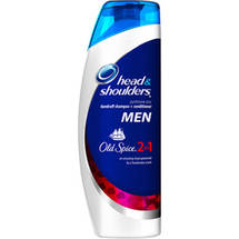 Head & Shoulders Men Old Spice 2in1 Dandruff Shampoo + Conditioner (Choose Your Size)