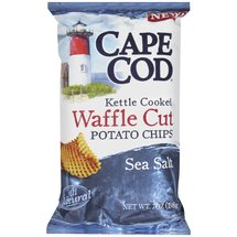 Cape Cod Kettle Cooked Sea Salt Waffle Cut Potato Chips