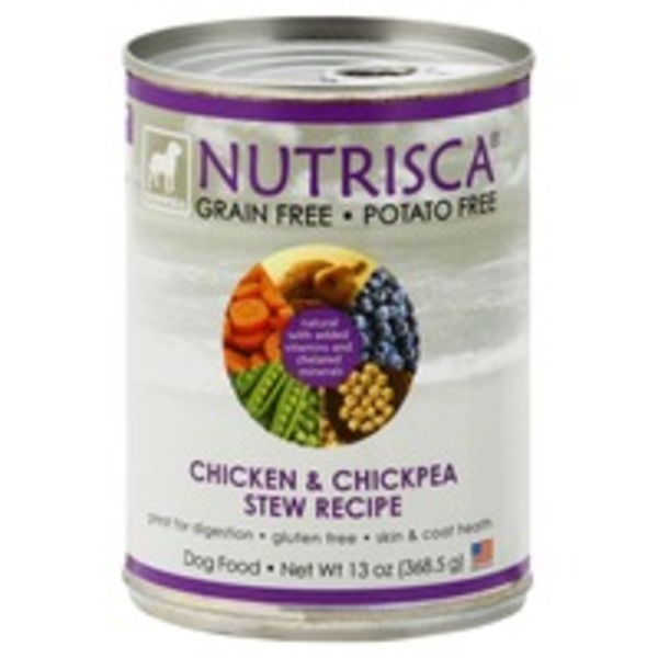 Nutrisca Chicken & Chickpea Stew Recipe Dog Food