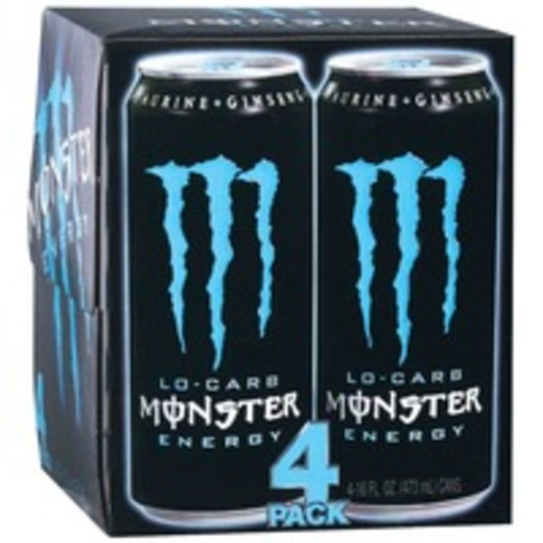 Monster Energy Lo-Carb - 4 PK