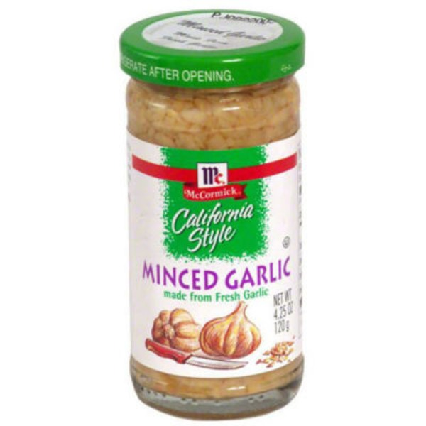 McCormick California Style Minced Garlic