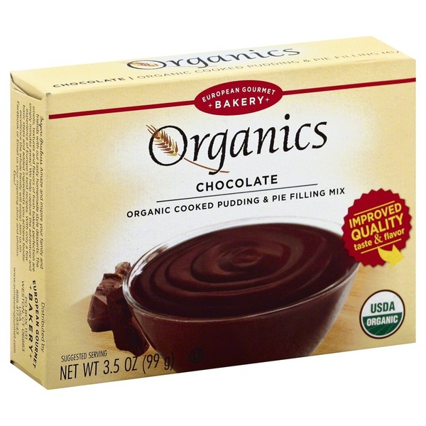 Lov Organics Cooked Chocolate Pudding And Pie Filling Mix
