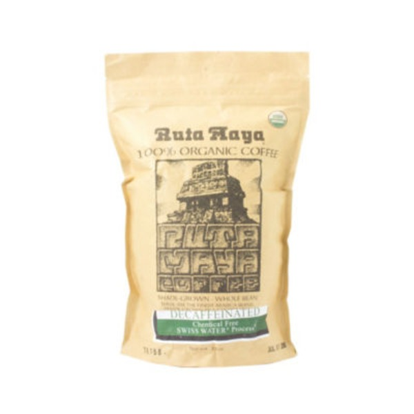 Ruta Maya Shade Grown Decaf Coffee