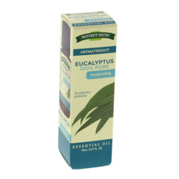 Nature's Truth Organic Aromatherapy Eucalyptus 100% Pure  Essential Oil