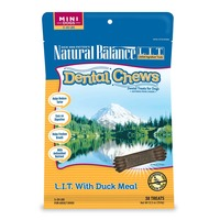 Natural Balance Limited Ingredient Treats Duck Meal Dog Dental Chews