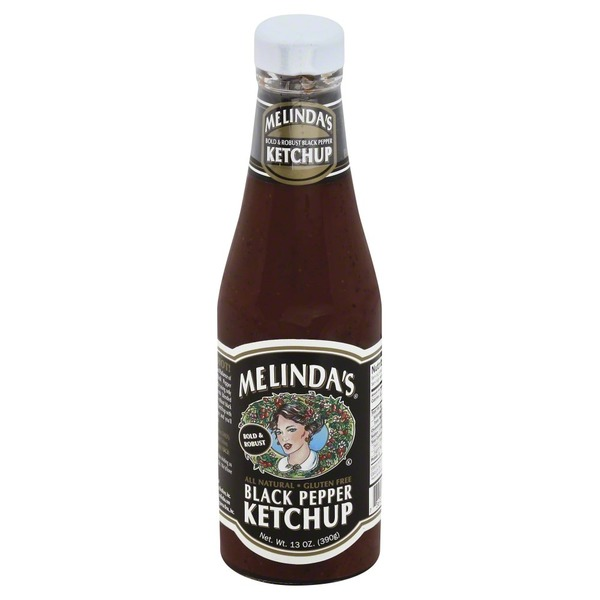 Melinda's Ketchup, Black Pepper, Bottle