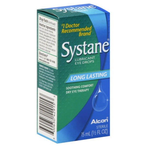 Systane Long Lasting Lubricant Eye Drops
