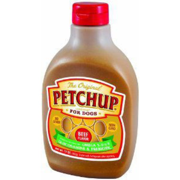 Petchup Beef Flavor Condiment For Dogs