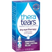 Thera Tears® Dry Eye Therapy Lubricant Eye Drops 0.5 fl. oz. Box