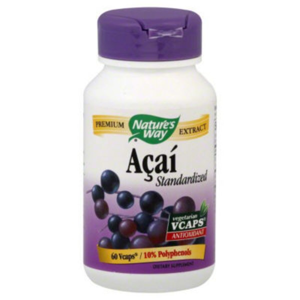 Nature's Way Acai Standardized Vcaps