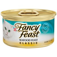Fancy Feast Wet Classic Seafood Feast Cat Food