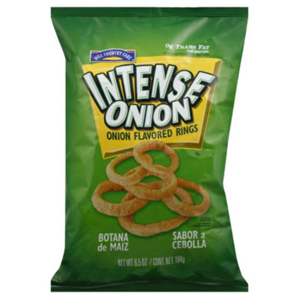 Hill Country Fare Intense Onion Flavored Rings