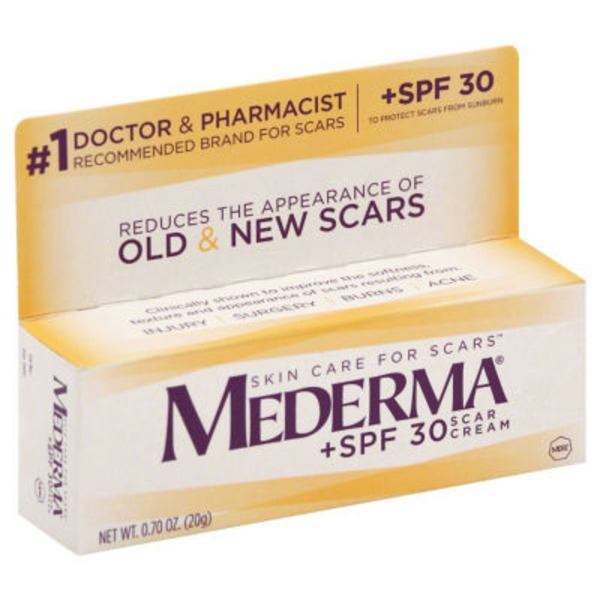 Mederma Scars Cream + SPF 30