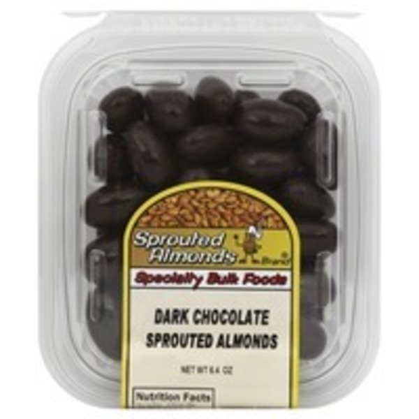 Sprouted Chocolate Almonds