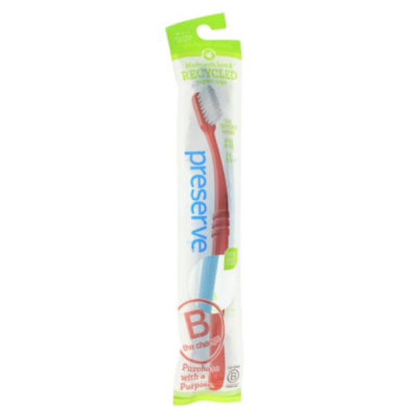 Preserve Lightweight Pouch Toothbrush Ultra Soft
