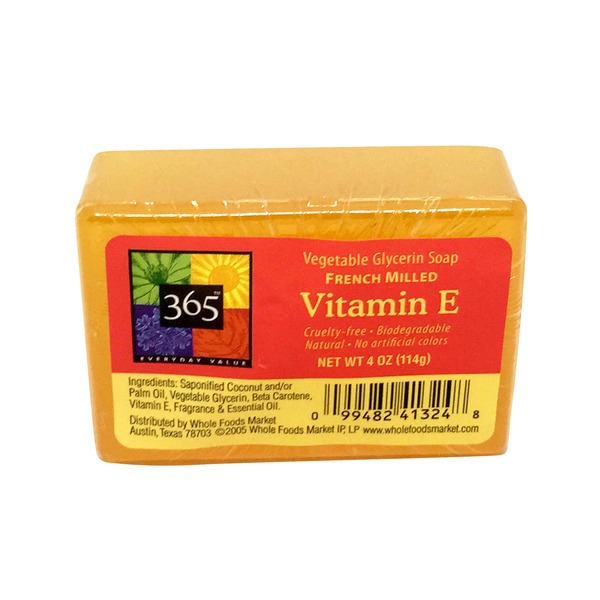 365 Vitamin E Glycerin Soap