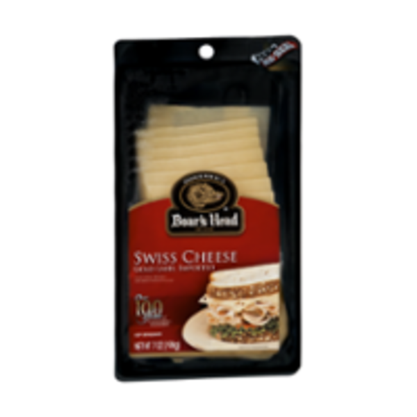 Boar's Head Sliced Cheese Swiss
