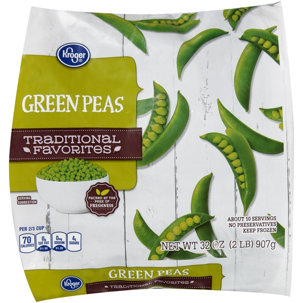 Kroger Traditional Favorites Green Peas