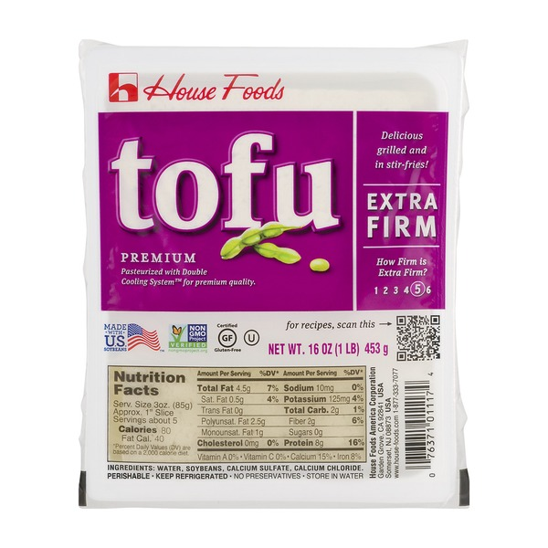 House Foods Premium Tofu Extra Firm