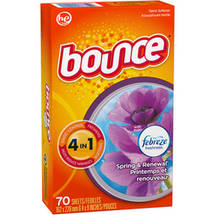 Bounce with Febreze Freshness Spring & Renewal Fabric Softener